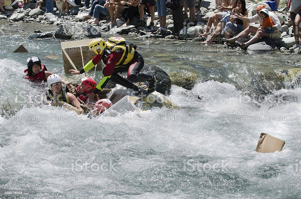 water rescue stock photo