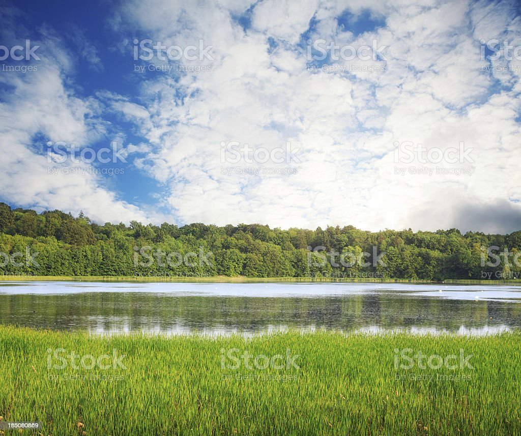 Water Reservoir royalty-free stock photo