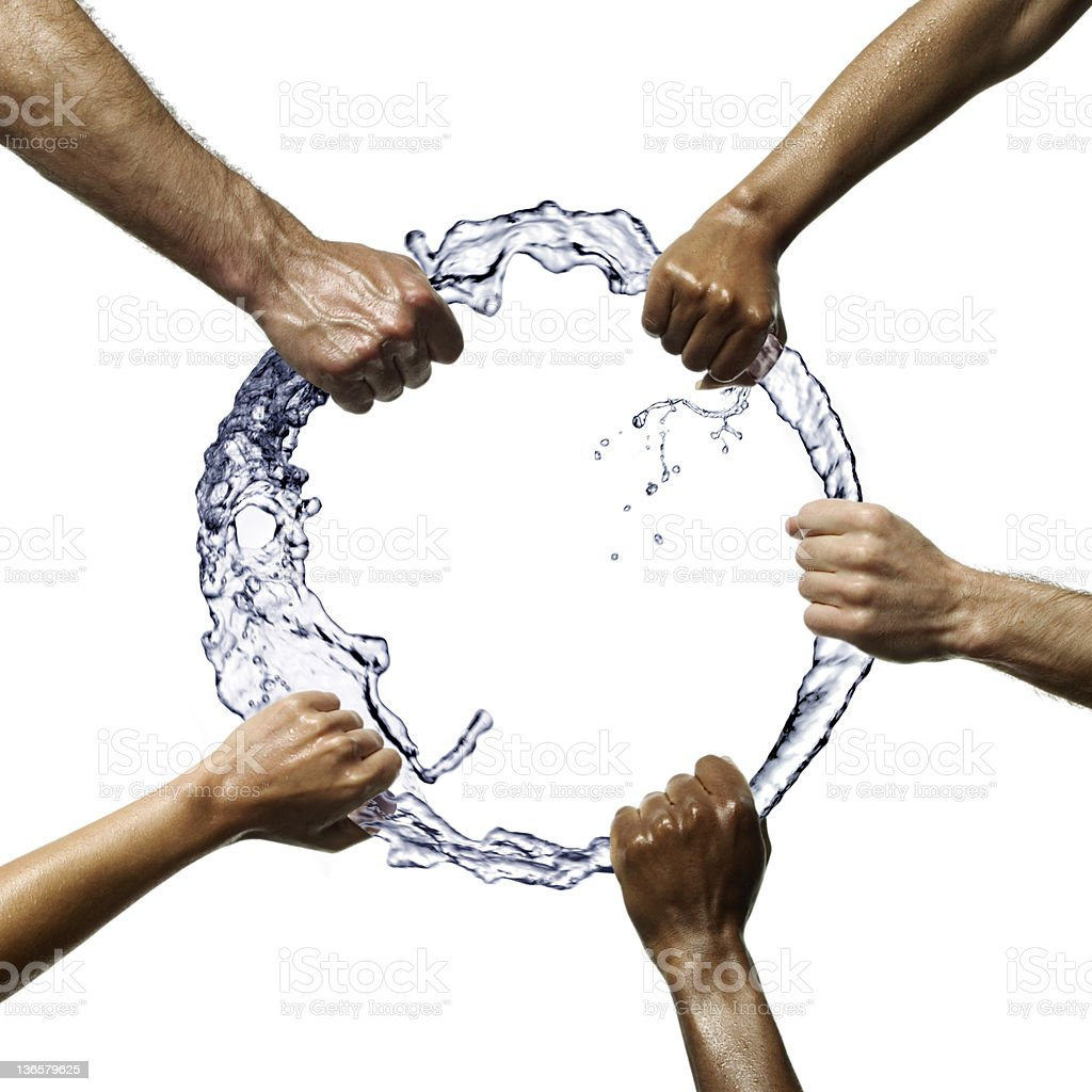 Water Ring royalty-free stock photo