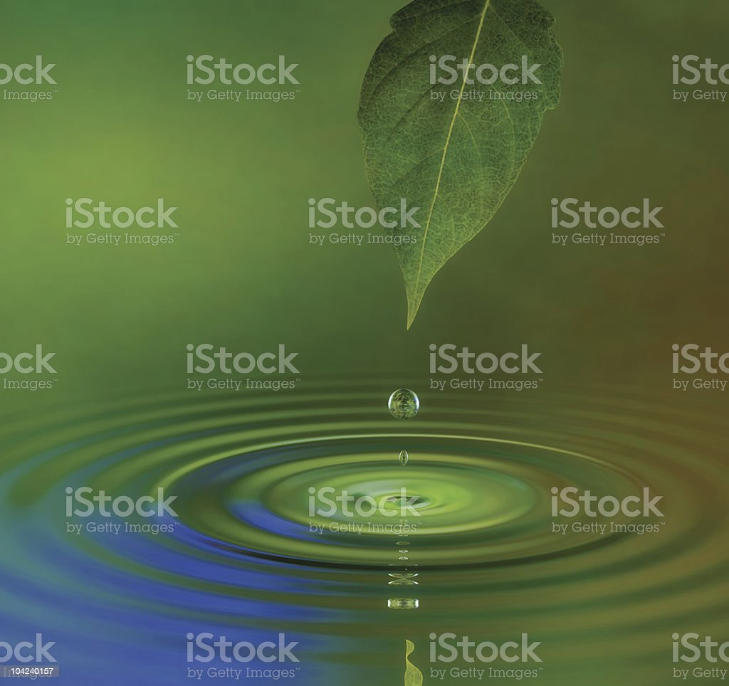 Water Ripple royalty-free stock photo
