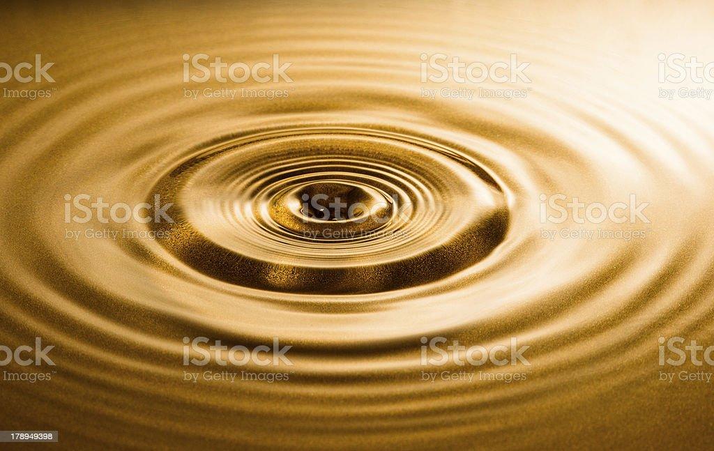Ondulação de água - foto de acervo
