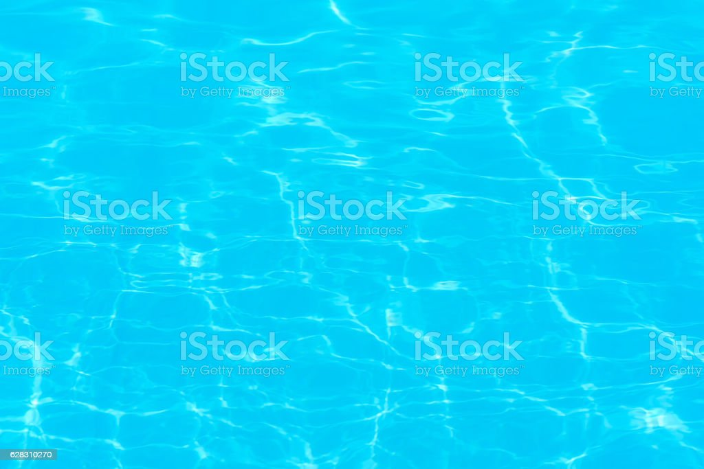 Water ripples in the pool background stock photo