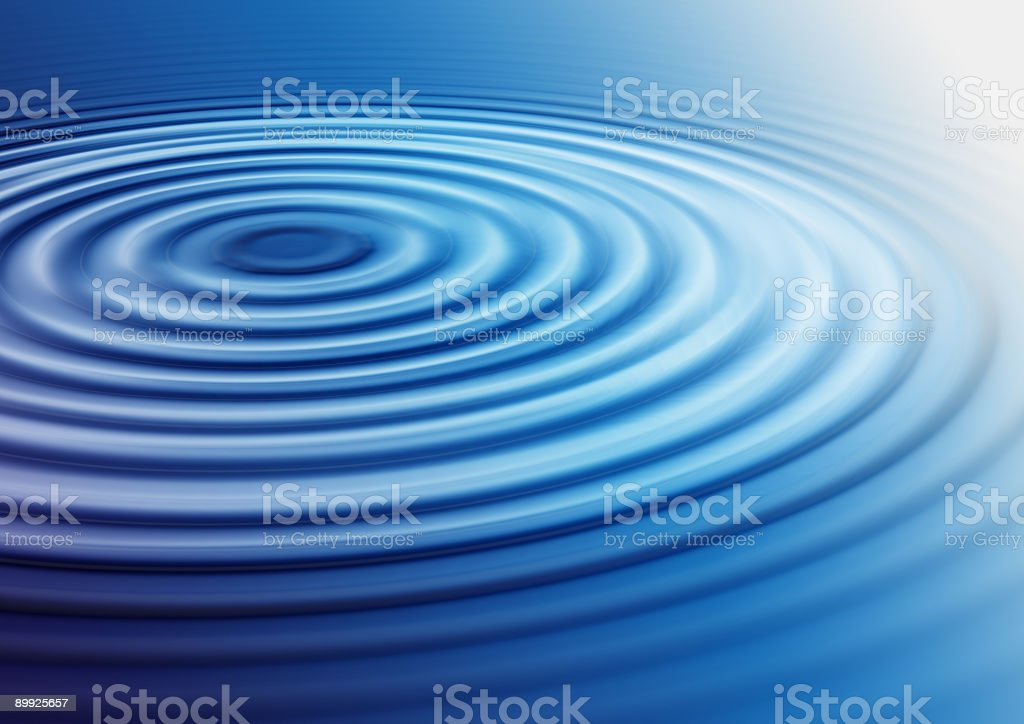 Water ripples stock photo