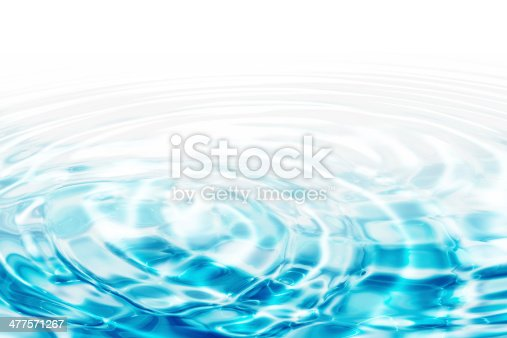 istock water ripples - turquoise concentric circles 477571267