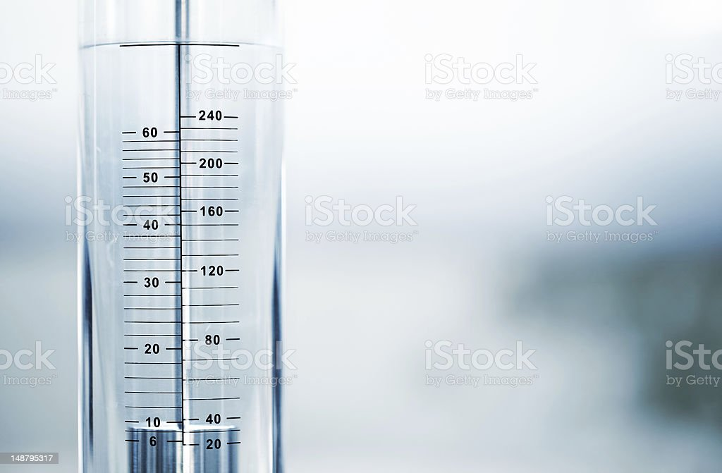 Water scale royalty-free stock photo