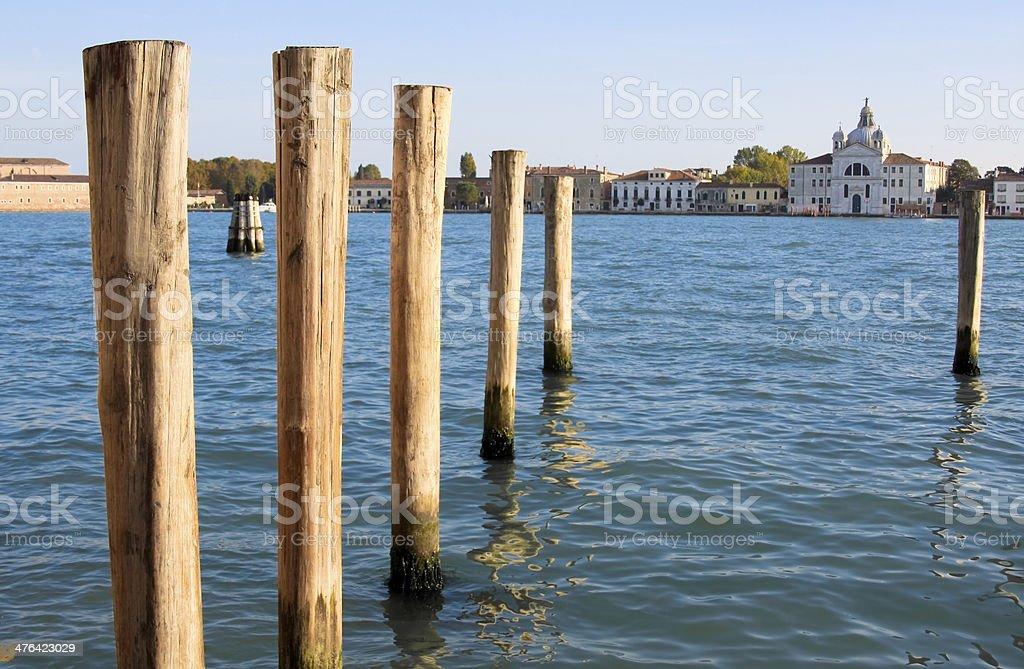 Water scene, Venice, Italy royalty-free stock photo