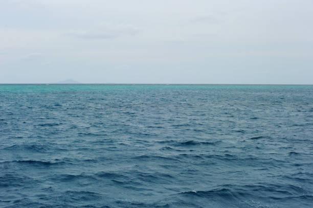 Water, sea. sky, waves. Australia, Great Barrier Reef.