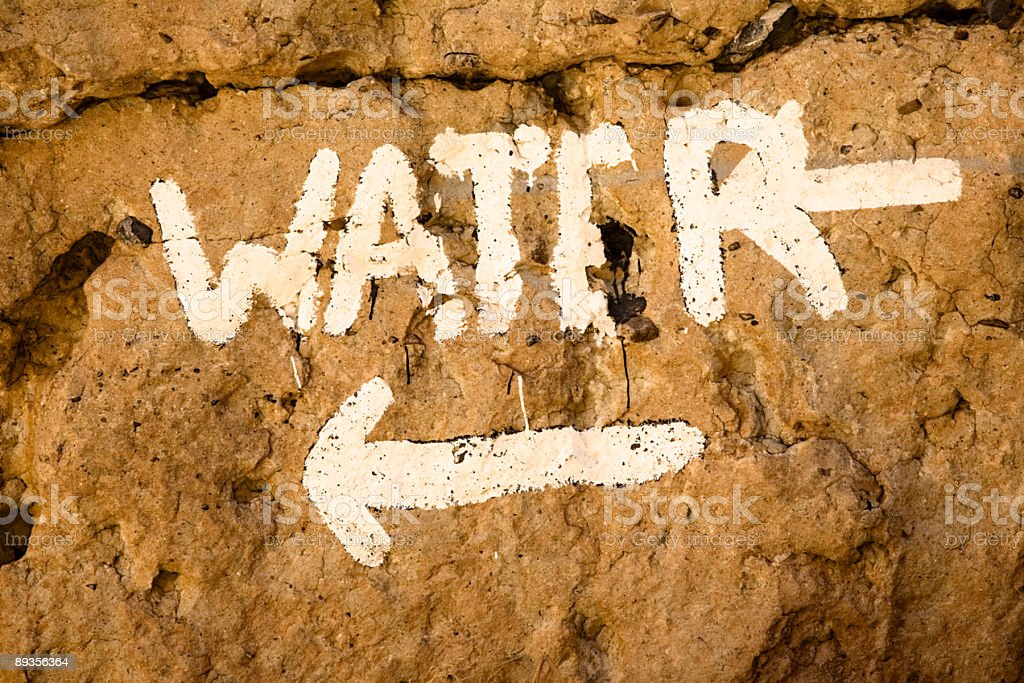Water sign dessert royaltyfri bildbanksbilder