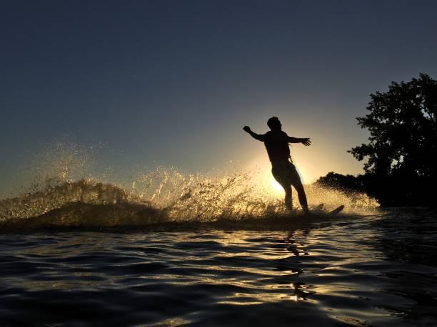 Water Skier stock photo