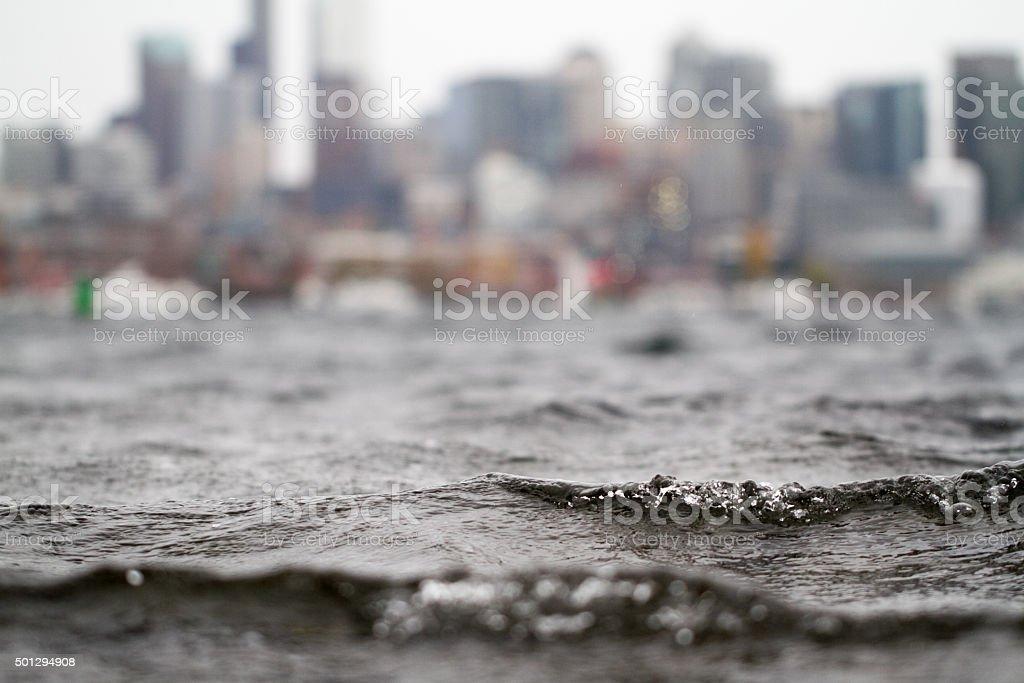 Water Skyline stock photo