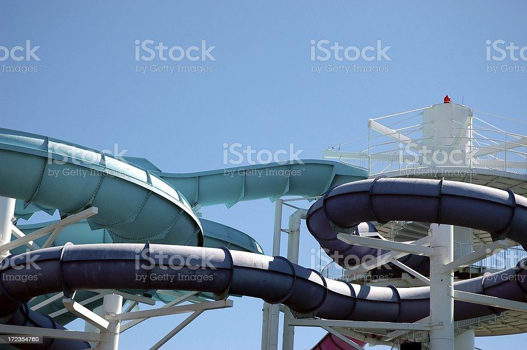 Water Slide royalty-free stock photo