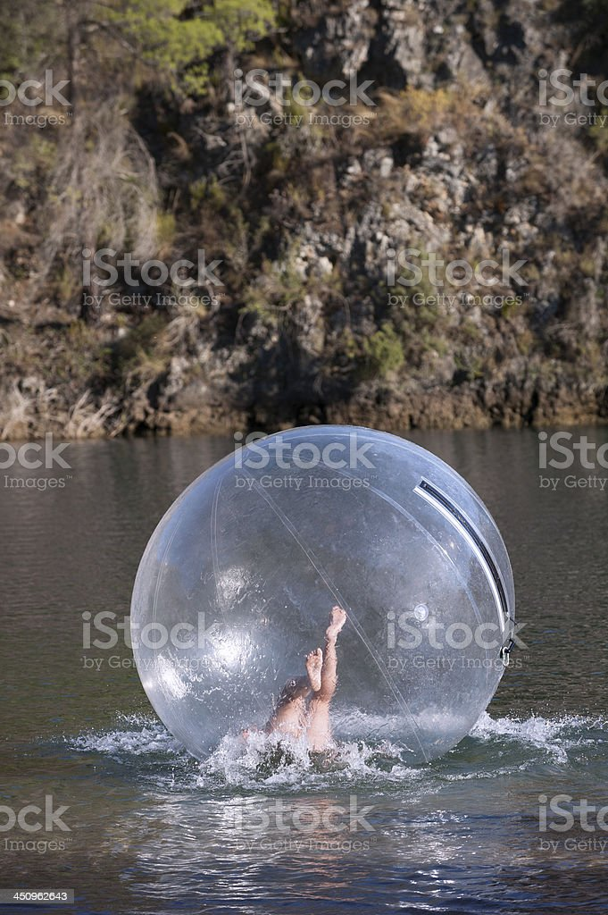 water sphere stock photo