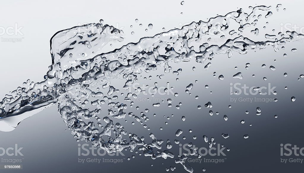 Water splash abstract background royalty-free stock photo