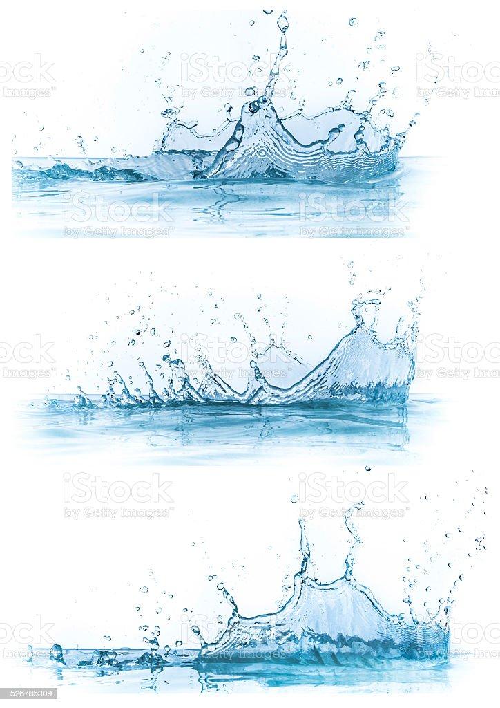 water splash-Kollektion – Foto