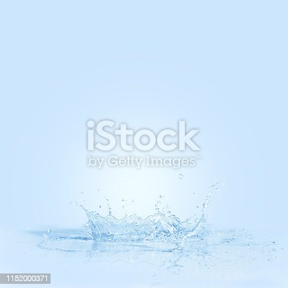 859844580istockphoto water splash drop to the ground on blue background . Close up of splash of water forming explode shape .  can be used for background display or montage anything your products 1152000371