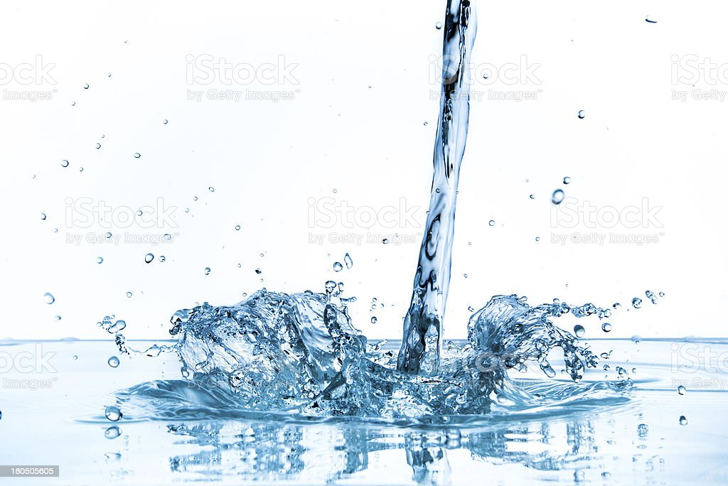 water splash royalty-free stock photo
