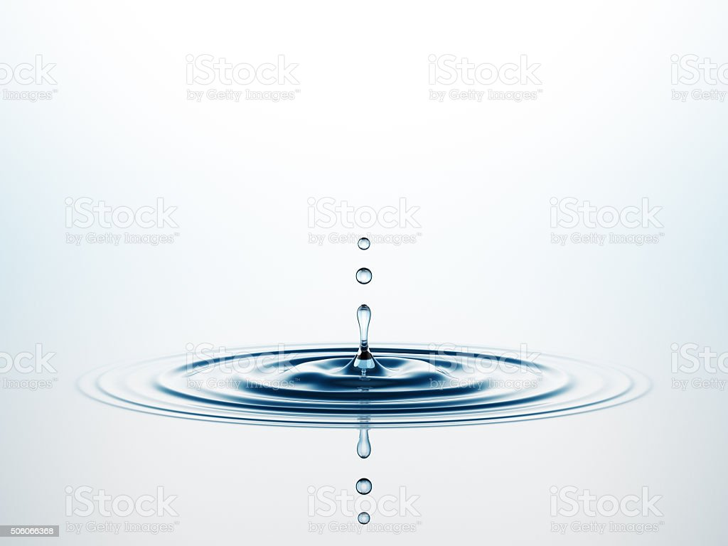 Agua Splash - foto de stock