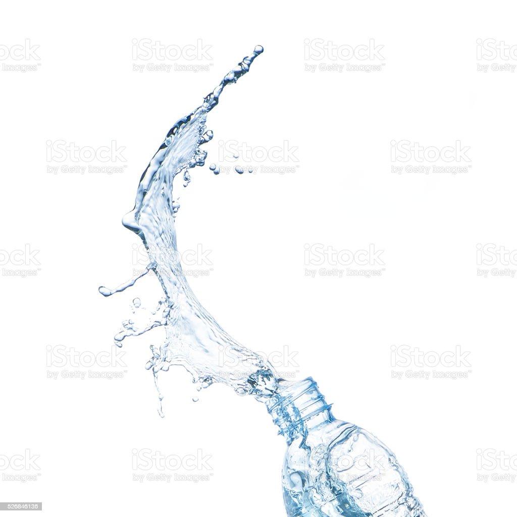 Agua splash - foto de stock