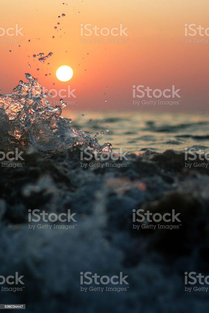 Agua splash foto de stock libre de derechos