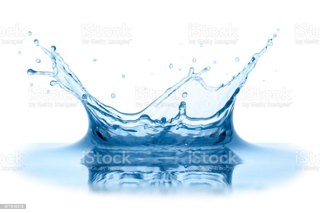Water splash. royalty-free stock photo