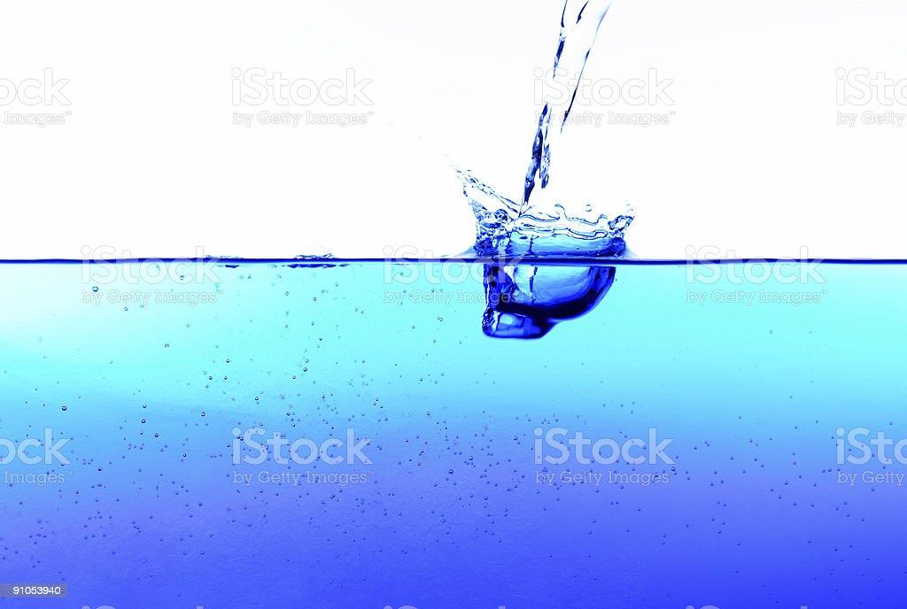 Water splash royalty-free stock photo