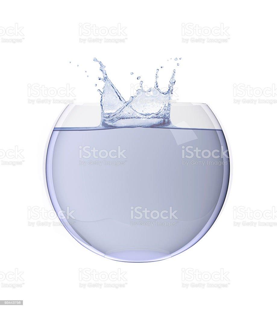 Water Splash Lizenzfreies stock-foto