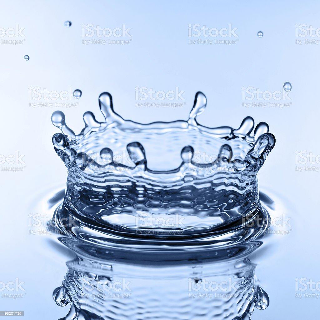 Acqua splash foto stock royalty-free