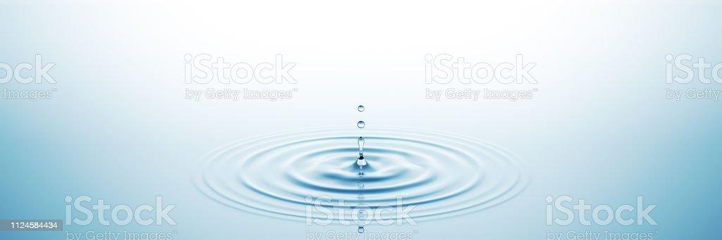 Water Splash Wide - Zbiór zdjęć royalty-free (Abstrakcja)