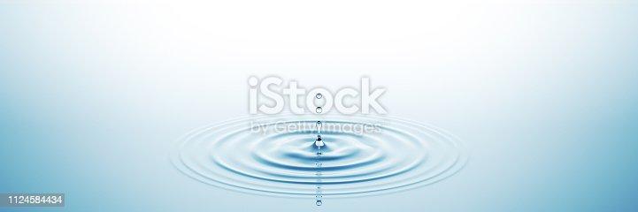 istock Water Splash Wide 1124584434