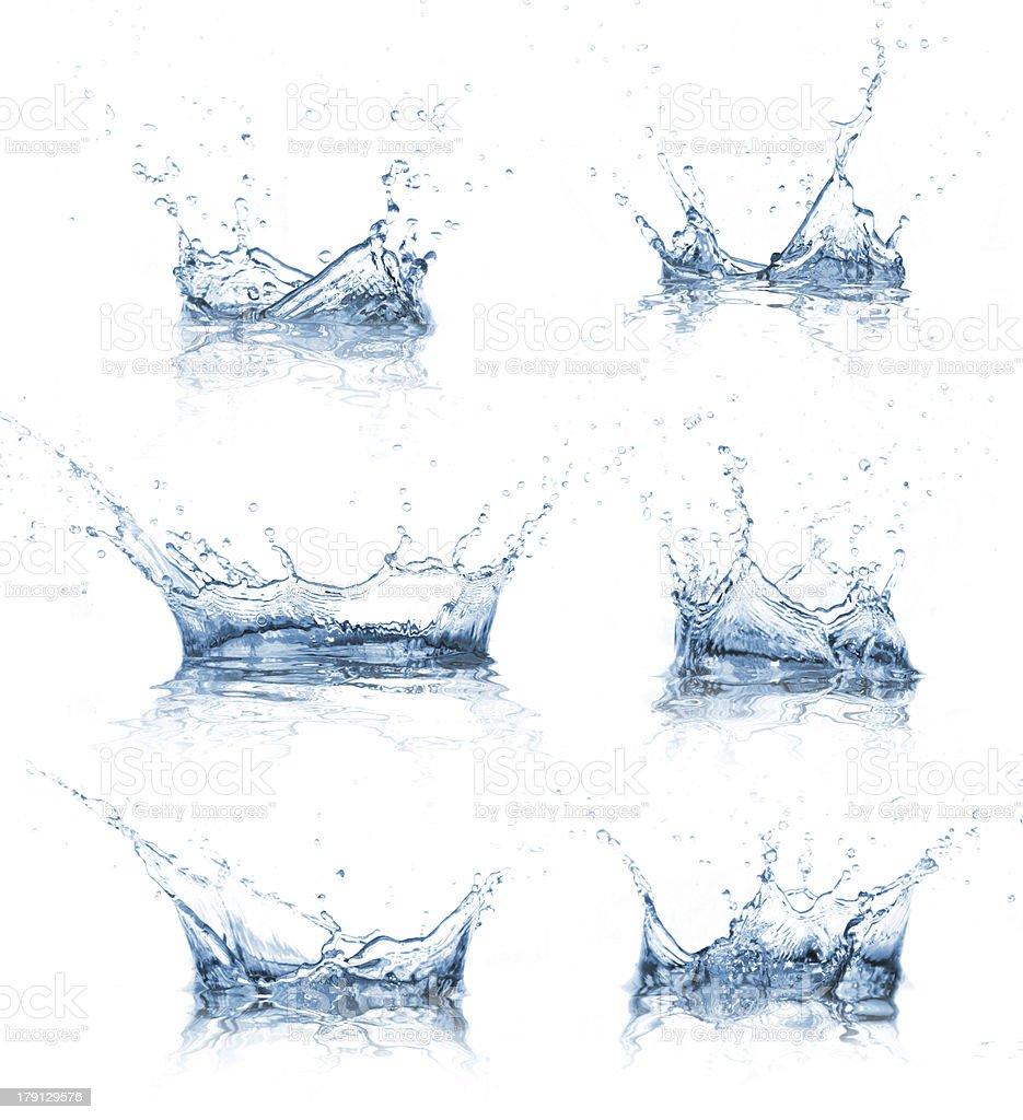 Wasser Akzenten Kollektion - Lizenzfrei Abstrakt Stock-Foto
