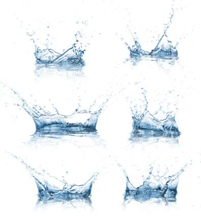 Wasser Akzenten Kollektion Stockfoto und mehr Bilder von Abstrakt