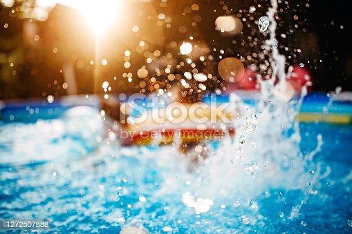 istock Water splashes 1272507888