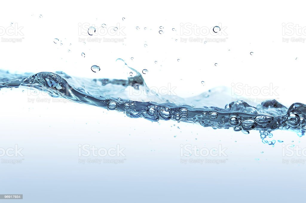 Water splashing royalty-free stock photo
