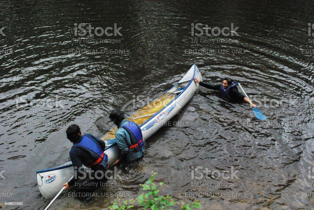 Water Sport Mishap stock photo