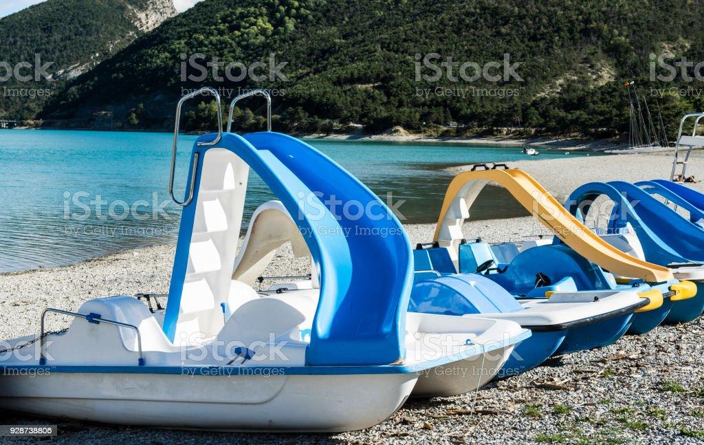 Water sports equipment stock photo