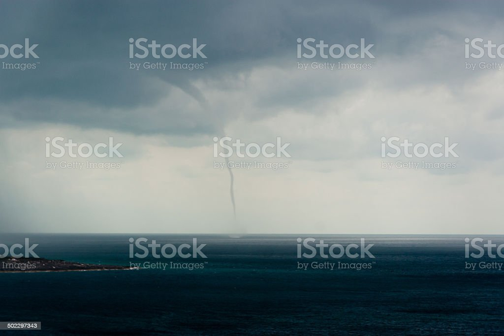 Water Spout stock photo