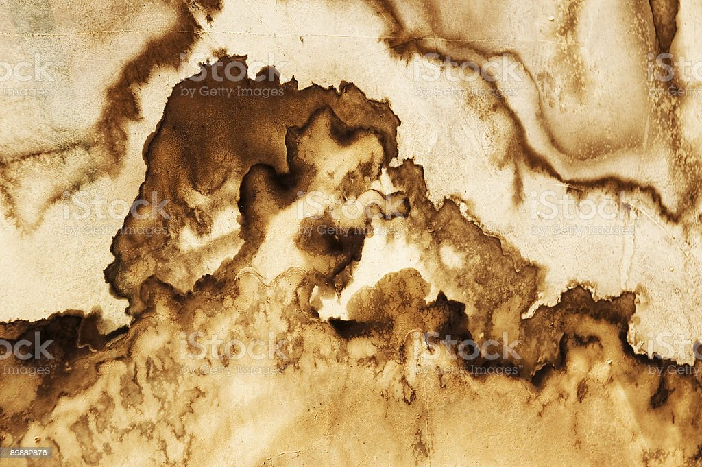 Water Stain royalty-free stock photo