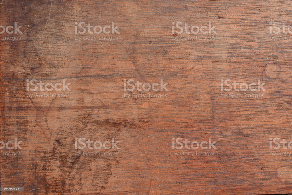 water stained wood surface stock photo