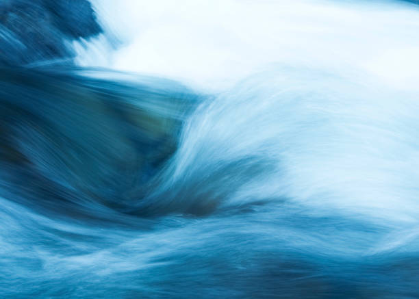 water stream - flowing water stock photos and pictures