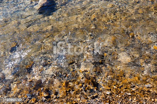 1037450870 istock photo Water streaming over stones in a riverbed 1192955249