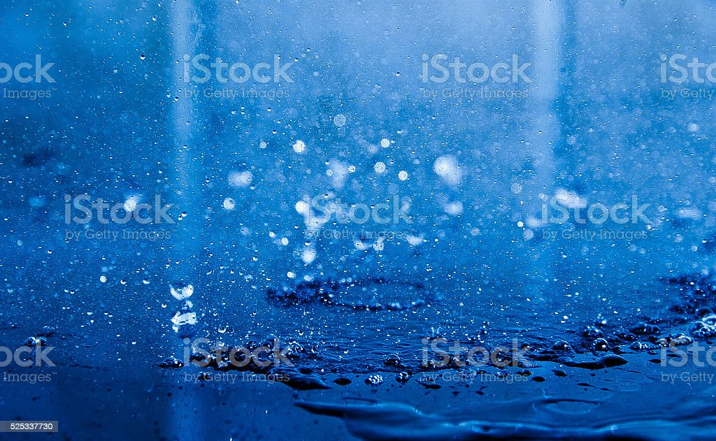 Water sublimation stock photo