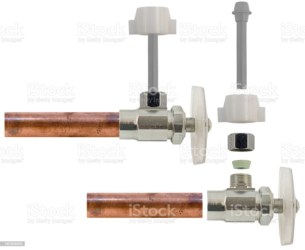 water supply assembly royalty-free stock photo