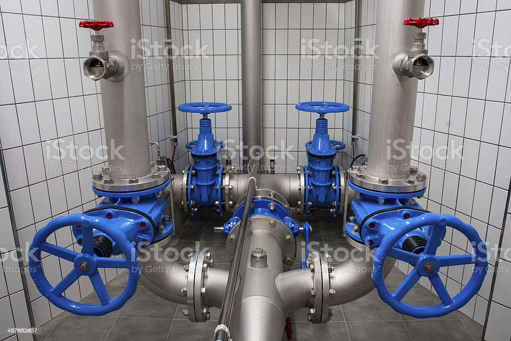 water supply stock photo