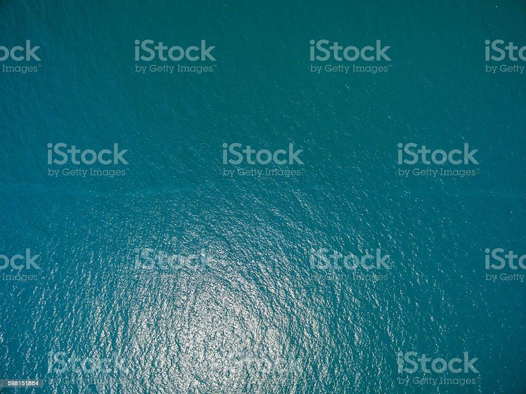 water surface aerial view - foto de acervo