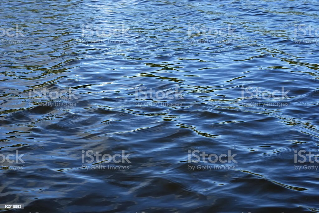 Water surface background stock photo