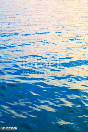 istock Water surface of sea 811263856
