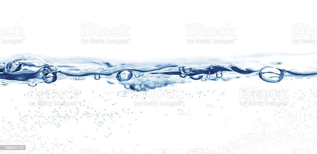 물 표면화시킵니다 royalty-free 스톡 사진