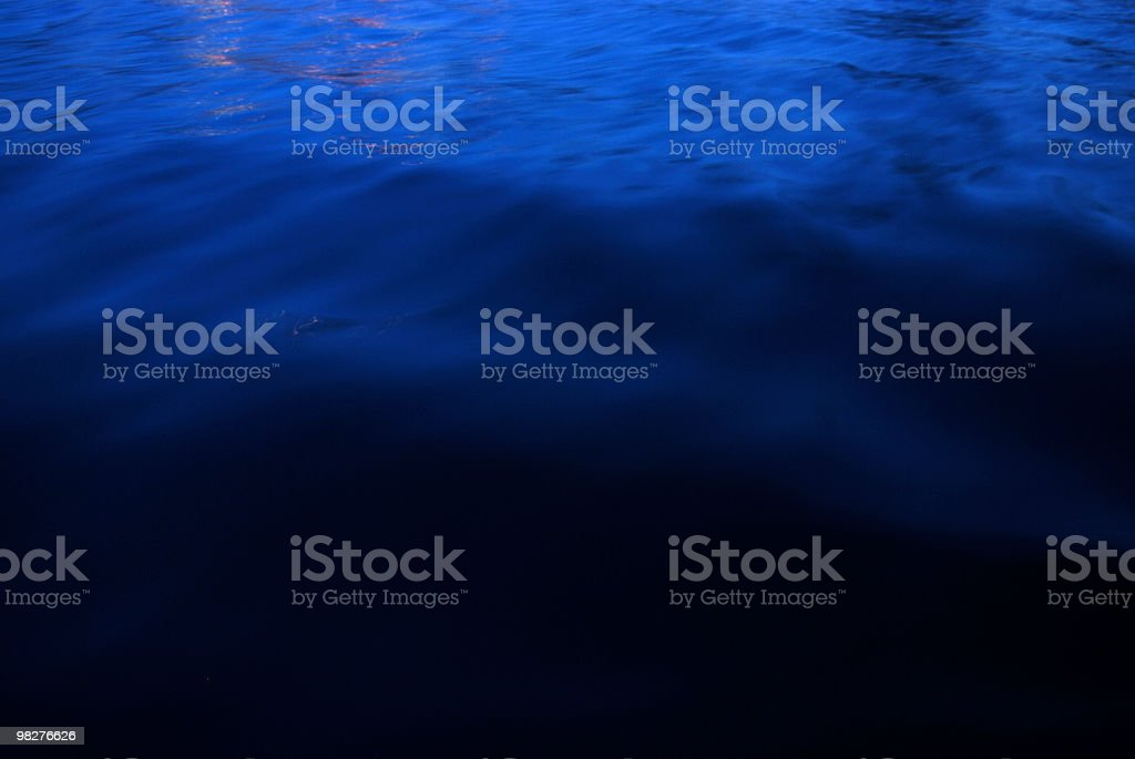 Superficie dell'acqua foto stock royalty-free