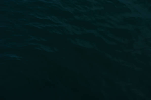Water surface texture background of the deep sea stock photo