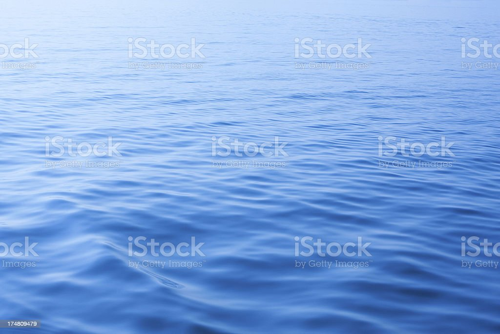 Water surface wave background stock photo